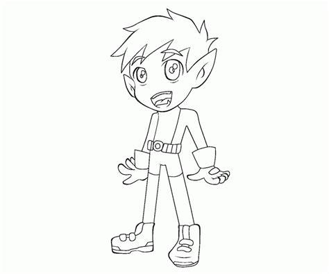 coloring pages beast boy 9 beast boy coloring page az coloring pages