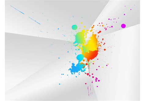 artistic color splash free vector stock graphics images