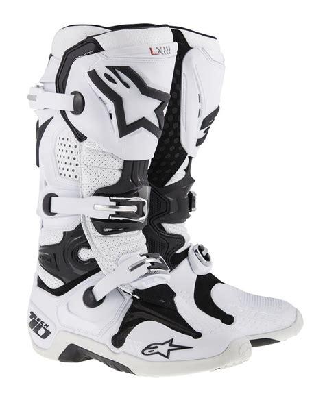 alpinestar motocross boots 357 06 alpinestars mens tech 10 boots 194792