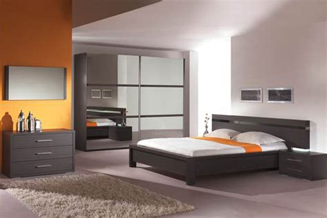 d馗o moderne chambre adulte chambre a coucher moderne