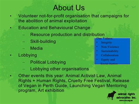 advocate for animals an abolitionist vegan handbook books environment and animal rights presentation