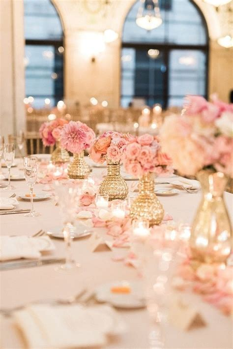 Blush And Gold Wedding Decor by Best 25 Blush And Gold Ideas On Pink And Gold
