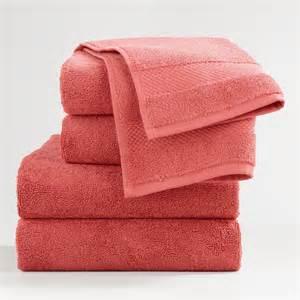 coral bath towels coral cotton bath towel collection world market