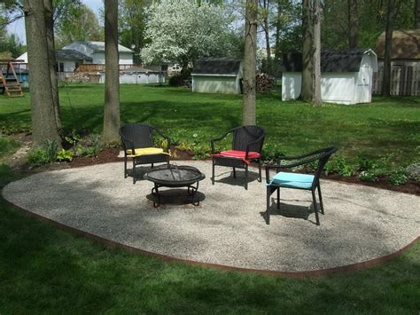 Gravel Patio Edging by Gardening Landscaping Beautiful Design Gravel Patios