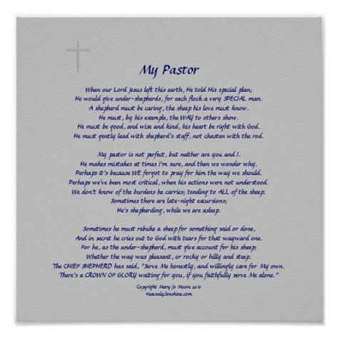 appreciation letter to youth pastor pastor appreciation poems or quotes quotesgram