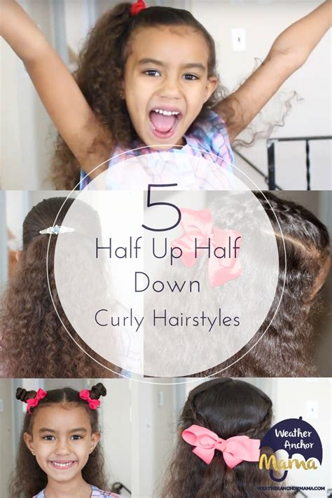 down hairstyles for races 5 easy half up half down curly hairstyles weather anchor