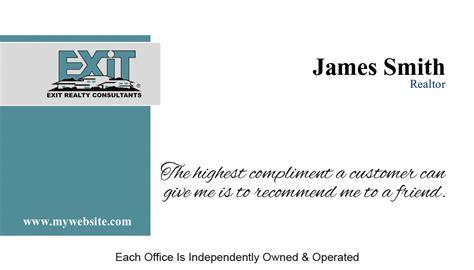 Exit Realty Business Card 02 Exit Realty Business Card Template 02 Exit Realty Business Cards Template