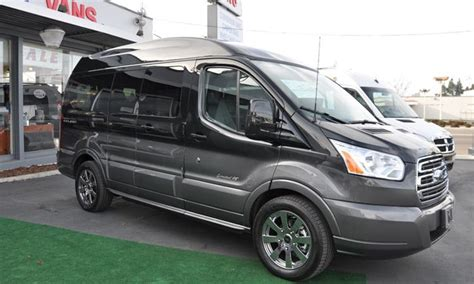 ford transit conversion van highly functional