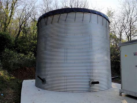 vasche acciaio benza vasche prefabbricate antincendio serbatoi d