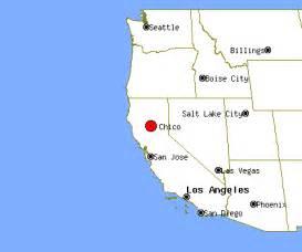 california map chico chico california map