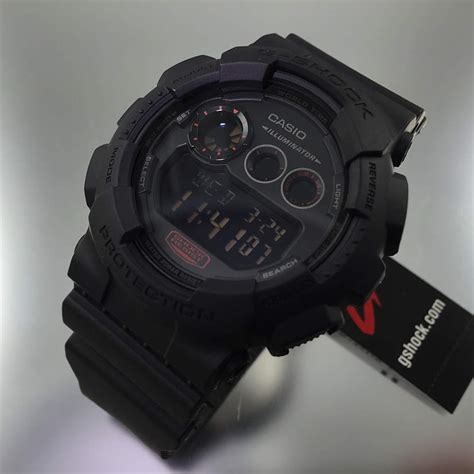 best g shock military watch black casio g shock digital military style watch gd120mb 1