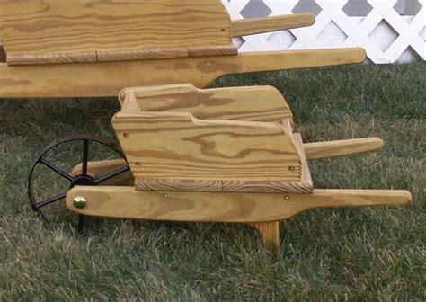Ornamental Wheelbarrow Planters by Small Amish Decorative Wheelbarrow Wheelbarrow Planter