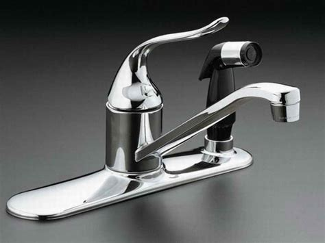 fix a leaking kitchen faucet how to repairs how to repair leaking kitchen faucet