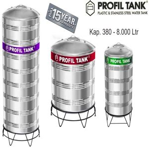 Tangki Air Stainless Profil Tank Ps 6000 Kaki Toren Tandon distributor agen tangki air toren air tandon air septictank biotank dll