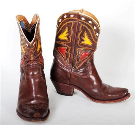 acme boots vintage acme boots western boots