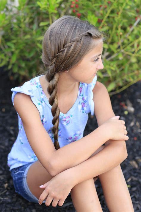 cute girl hairstyles rope braid waterfall twist rope braid summer hairstyles cute