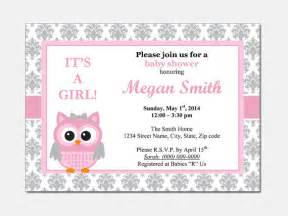 owl baby shower invitation diy printable by designtemplates