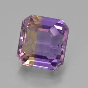 Ametrine 5 97ct bi color ametrine 5ct octagon emerald cut from bolivia