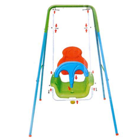 altalena per bambini da interno altalena per bambini 128x110x110 cm struttura metallo e
