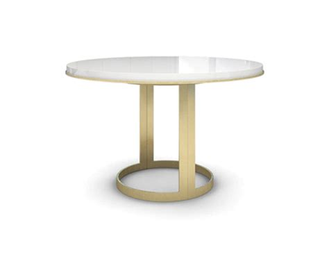 gold table l base extendable white lacquer top gold base table