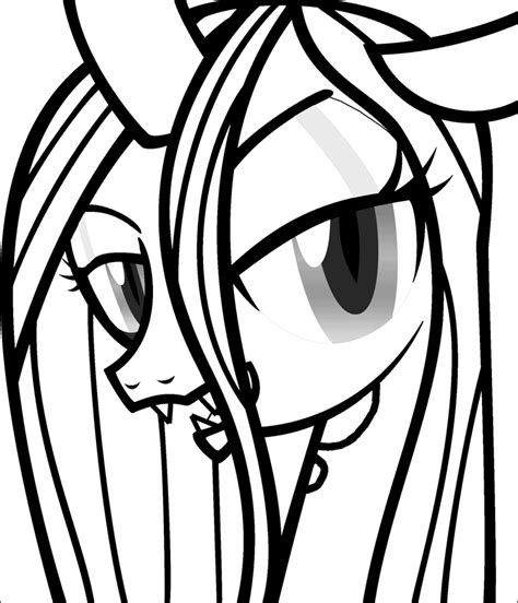my little pony queen chrysalis coloring pages