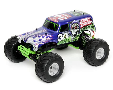 monster jam traxxas trucks traxxas 30th anniversary quot grave digger quot monster jam 1 10