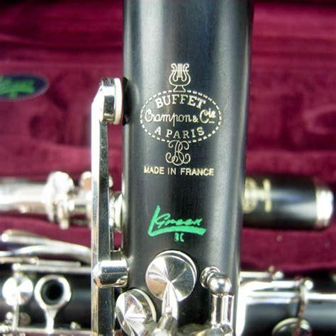 buffet greenline clarinet buffet cron r13 green line professional clarinet