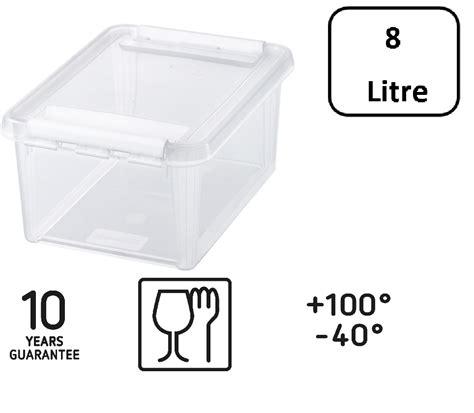 Box 8 Liter Orthex Smartstore Home 10 Box 8 Liter 340 X 250 X