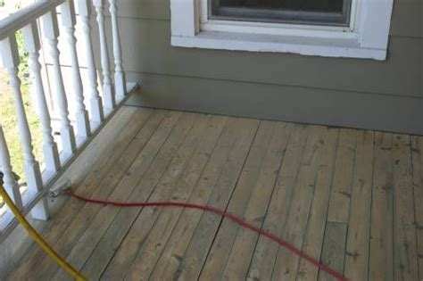 how to refinish wood porch floor autumn diy project