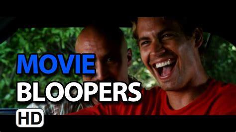fast and furious bloopers 2 fast 2 furious 2003 bloopers outtakes gag reel youtube