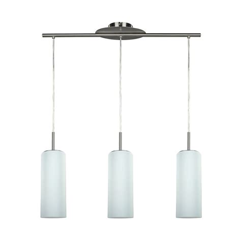 Designer Island Lighting Shop Canarm Toni 6 In W 3 Light Pewter Kitchen Island Light With Frosted Shade At Lowes