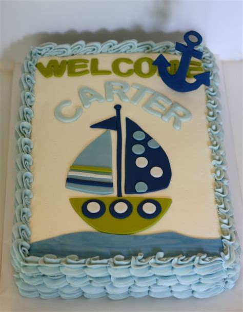 Baby Shower Cakes Nautical Theme by Best 25 Nautical Baby Shower Cakes Ideas On