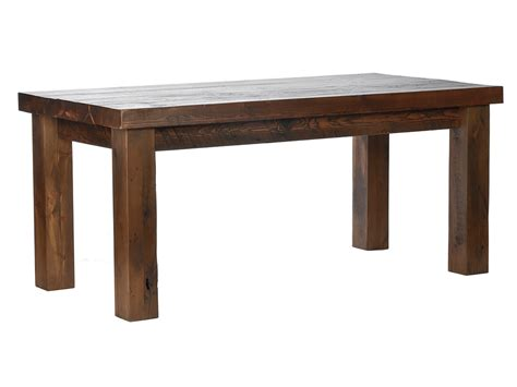 Reclaimed Timber 6 X 3 Chunky Table   LPC Furniture