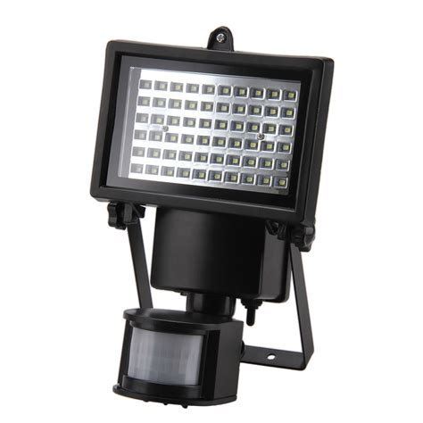 Motion Detector Flood Lights by Security Light With Motion Detector Sensor Solar Power 60