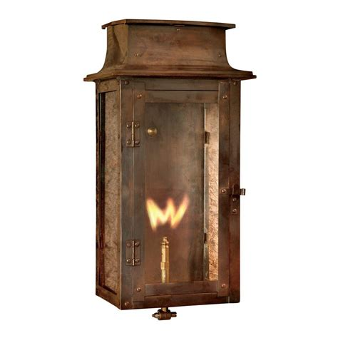 Titan Lighting Maryville Washed Pewter Gas Outdoor Wall Outdoor Lighting Lanterns