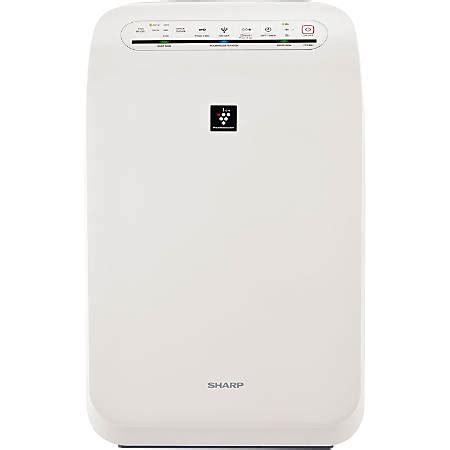 sharp hepa air purifier  plasmacluster ion technology fp fuw  office depot officemax