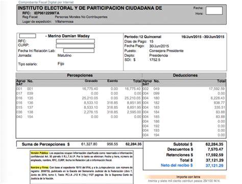 metodo de pago en recibos de nomina 2016 humaneland recibos de nmina forma recibo de nomina con