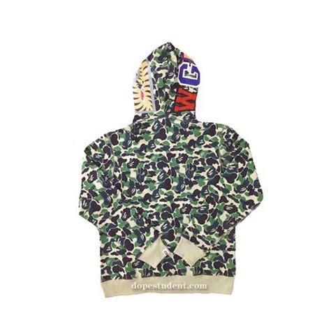 Bape Hoodie Shark Green Camo green abc camo zip bape shark hoodie dopestudent