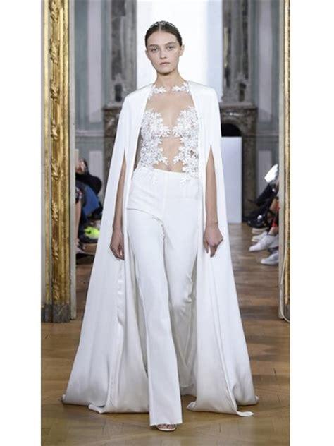hochzeitskleid jumpsuit hochzeitskleider 2017 jumpsuit mit transparentem blumen