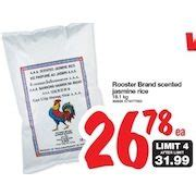 real canadian superstore rooster brand scented jasmine rice redflagdealscom