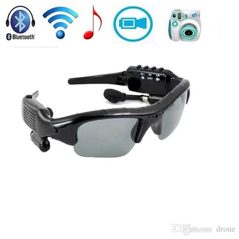 Bluetooth Mp3 Player With Camcorder 8gb bluetooth sunglasses 4 in 1 mp3 player dvr mini