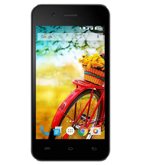 Handphone Lava Iris 510 lava iris atom 8gb black available at snapdeal for rs 2899