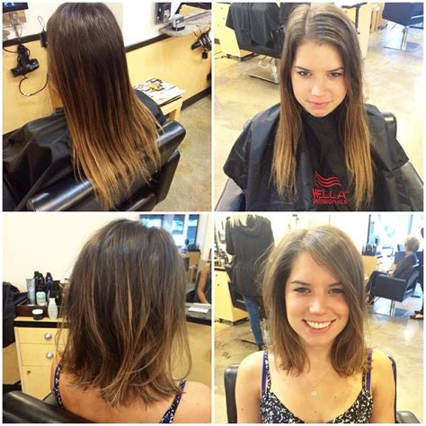 hairstyles before and after pictures hair cut before and after hairstyles pinterest