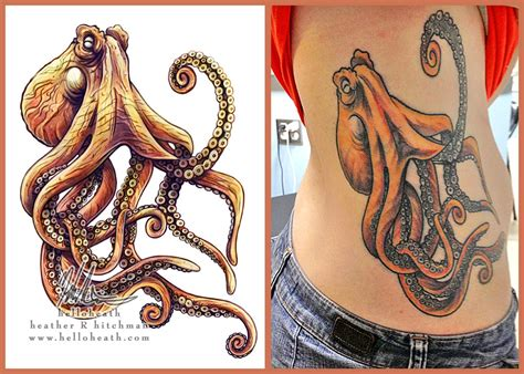octopus design tattoo octopus illustration www pixshark images