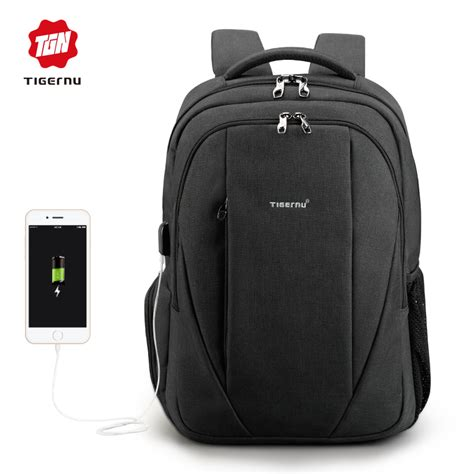 Tas Backpack Anti Maling tigernu tas ransel backpack anti maling dengan usb port