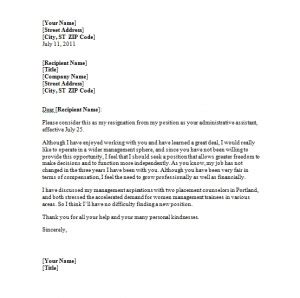 Resignation Letter Bad by Resignation Letters For Quotes Quotesgram
