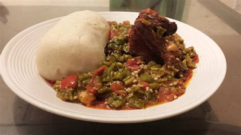 bank u pictures of banku and okro stew