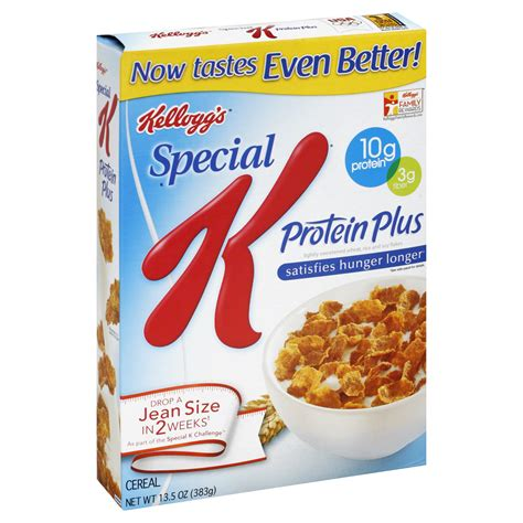 k protein satisfies hunger longer special k cereal protein plus 13 5 oz 383 g