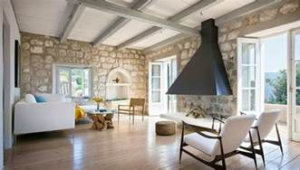 Rustic Home Interior by New Contemporary Rustic Interior In Croatia Decoholic