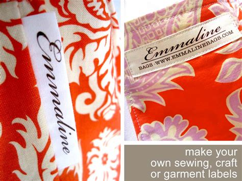 printable fabric labels printing your own fabric labels and more sew what s new